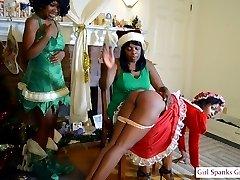 FAMILY CHRISTMAS SPANKINGS
