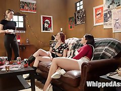 Bella Rossi and Lea Lexis are waiting for their pizza, but when delivery girl Lily LaBeau...