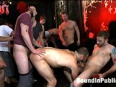 The Feisty Slut Everett Jagger is go-go dancing for a crowd of horny men. The men tip Everett...