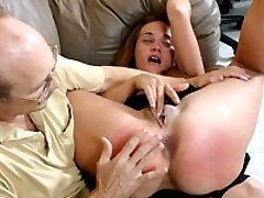 Bad girl is spanked for losing her bfs report
