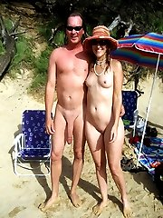 Forbidden photos and videos from nudist beach