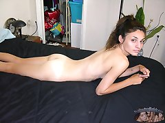 Amateur Italian Babe Modeling Nude And Spreading Her Ass - Rubi Model