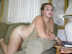 Chubby Amateur Babe Models Nude At Underground Homemade Modeling Shoot - Brittany K. Model