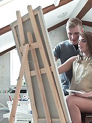 Vlada had always wanted her tutor. But when he was breathing down her neck, she felt hornier and...