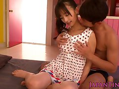 Japanese tiny squirting while fingered