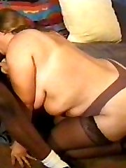 Black cock for a busty white bitch