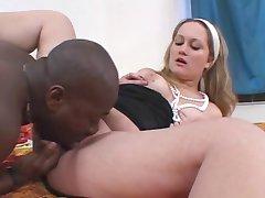 Gabriella & a black guy (Interracial Sex!)