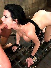 Veronica Avluv makes her debut at Sex and Submission in this incredibly hot fantasy role-play...