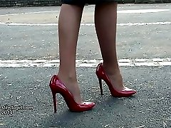 A pretty lady who wears high heels is such a lovely sight. As Claire sets youre pulse racing...