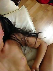 Gorgeous Ukrainian hottie does incredible anal scene and receives a  massive sperm load on her face