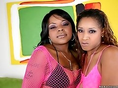 Hot black lesbian fuck fest