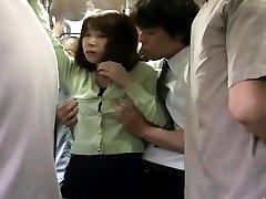 Japanese AV Model Asian has hairy vagina PublicSexJapan.com