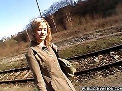 She took me to an abandoned house