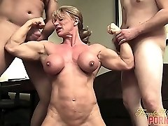 Horny mature babe with huge tits is desperate for a big cock