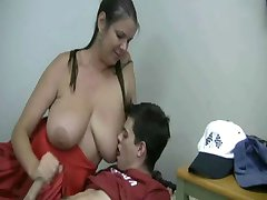 The Tutor is back jerking off the lads - (Mrs M)