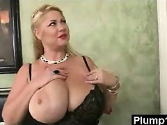 Plump Milf In Vigorous Sex