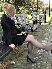 Whenever Iona appears on flick she always likes you to enjoy her shoe by looking at it close up from every angle! This she says always gets a boy's fetish up that will finish you off and stimulate your wish all over again
