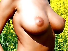 Hairy Amateur Poked in the Field