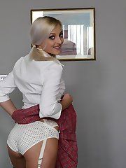 Katy Rose wanna look up my skirt
