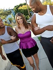 Brooklyn Chase Interracial Movies at Blacks On Blondes!
