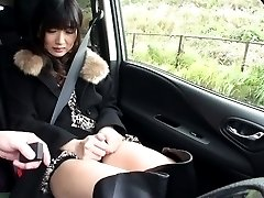 Hibiki Ohtsuki Asian in long boots rubs pussy OutdoorJp.com