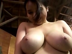 Amateur Asian dame exposes generous hooters OutdoorJp.com
