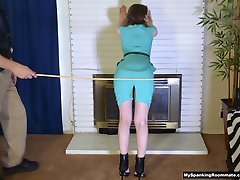 Episode 225: Secretary Alaina Fox Spanked and Caned