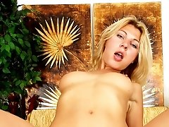 Kristy is packing a big dildo and she is ready to take her mans ass for a ride!