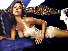 Enjoy hot Jennifer Lopez in white lingerie
