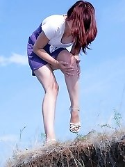 Only fantastic upskirts from below