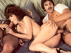 Ron Jeremy in a threesome