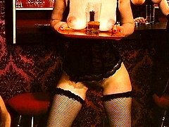 Topless classic bartending