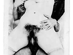 Playful bimbo enjoys performing erotic poses