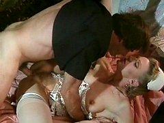 Naked mistresses make man feel the hardest ache