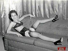 Vintage naughty housewifes