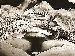 Fur Covered twenties girls naked
