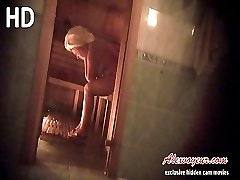 Mature naked woman voyeur shower room and voyeur porn clips of girls in sauna wait for you