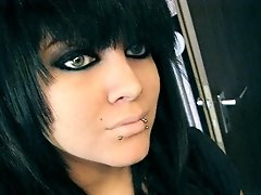 Hot emo chicks with awesome hair