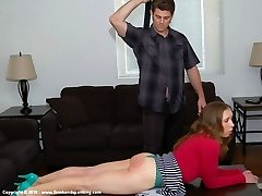 Firm Forearm Spanking