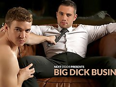 Dylan Knight & Gabriel Cross in Big Dick Business XXX Video - NextdoorBuddies