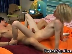 Homo fledgling swingers school twink cum shot