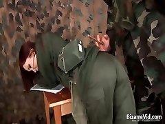 Dampende rød haired å bli slapped part3