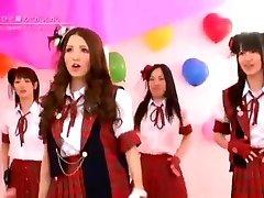 Japansk Nakne Jenter Band