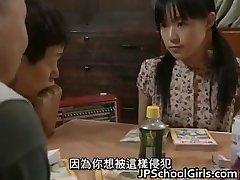 Asiatisk Brud i sex Gangbang