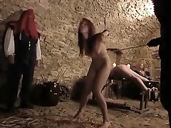 Crazy unexperienced Slave, Humilation adult video