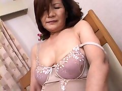 Mature Asian Masturbation