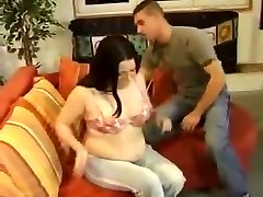 Pregnant retro f and facial
