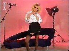 Naughty Uniform Blonde Unwraps !!