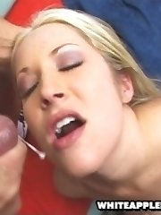super-hot cumslut with phat white ass fucking