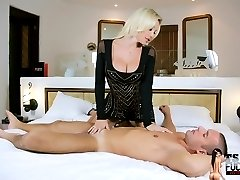 The TS Fucker getting Dominated by the Great TS Ana Mancini